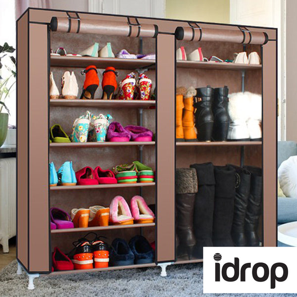 idrop 9 Tier with 2-Column Shoe Rack