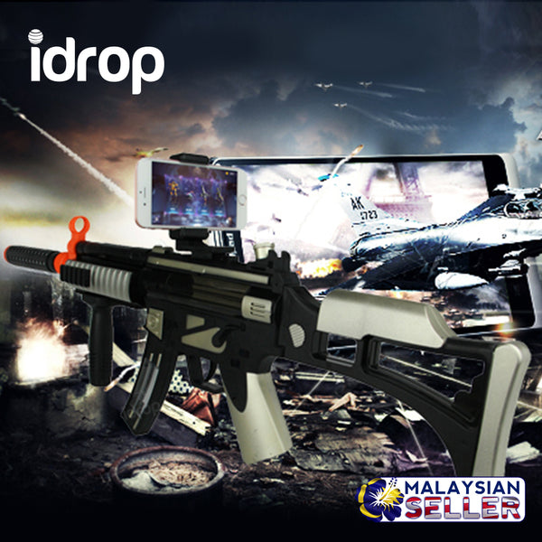 idrop Wireless Bluetooth AR Gun Smartphone Virtual Shooting Game for Android iOS Phones