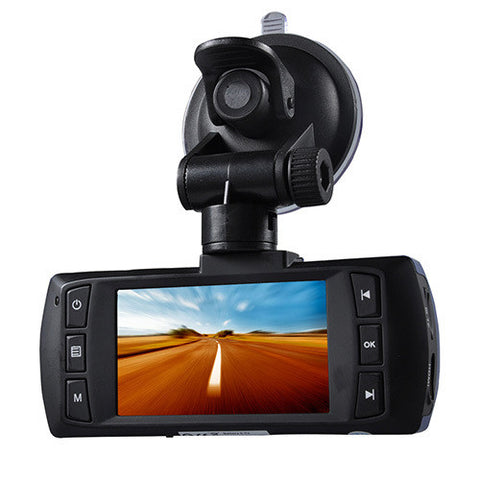 AT580 2.7-inch LCD 148-degree Wide Angle Dual Lens FHD 1080P H.264 Car DVR with G-sensor /HDMI /TF Slot