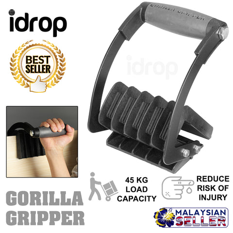 idrop Multipurpose Gorilla Gripper Lifter Panel Carrier Handle Tool System