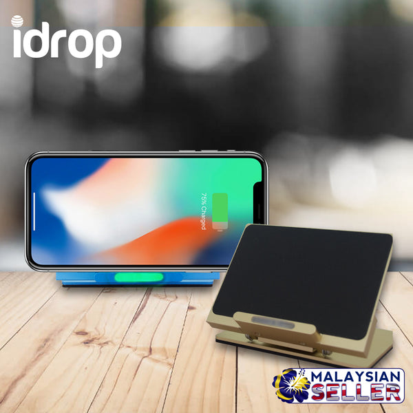 idrop Adjustable Holder Wireless Charging Stand Qi Wireless Charger 5V 2A