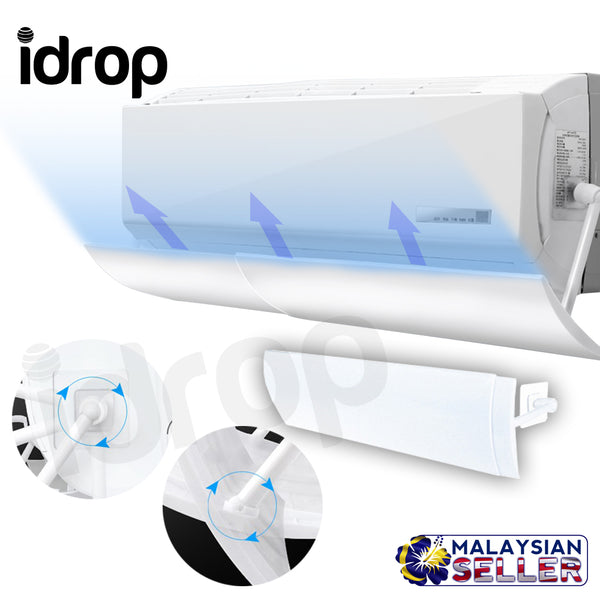 idrop Retractable Air Conditioning Anti-direct Blow Wind Deflector [58cm~101.5cm]