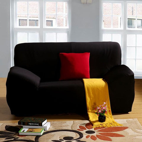 Elastic Pure Color Sofa Cover