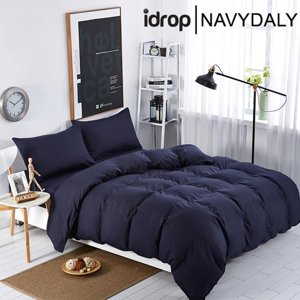 NAVYDALY Fashion style bedding king size bed sheet with bolster