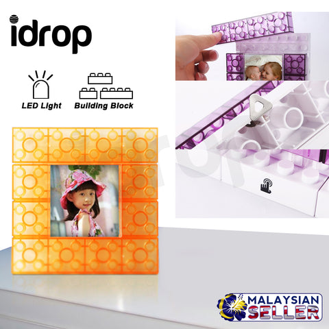 idrop Creative LED Light DIY Frame Building Block for Room Decor