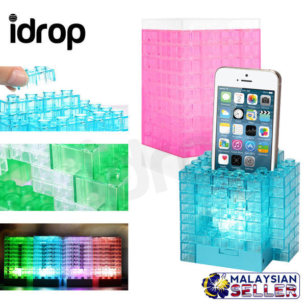 idrop DIY LED Mini Table Desk Building Blocks Lamps for Room Decor