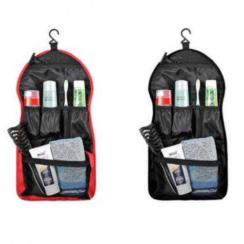 Canvas Portable Hanging Toiletry Travel Organizer Bags