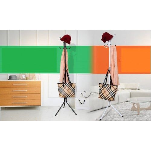 Carbon Steel Clothes Rack (3 Colours)