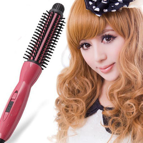 Constant Temperature Hair Styling Brush Comb 2In1 Hair Curler Hair Styler Air Brush