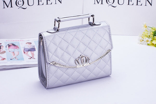 Crown PU Leather Bag