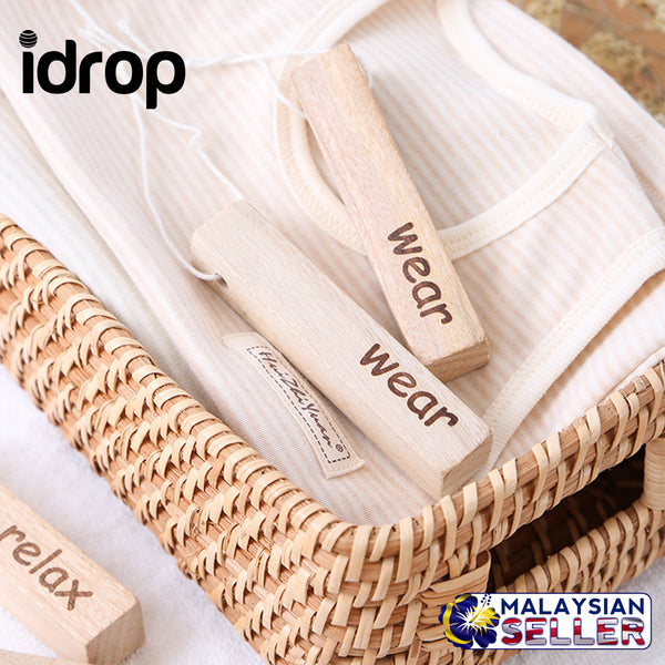 idrop Camphor Wood Anti-odor Insect-proof Anti-moisture mildew