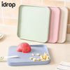 idrop Wheat Straw Reversible Hygienic Kitchen Slicing Cutting Chopping Boards Tools