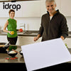 idrop Creative Kitchen Grade Silicone Non-slip Chopping Board 38cm*28.5cm