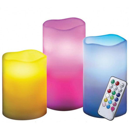 Color Changing Luma Candles: 12 LED Colors For Every Occasiom