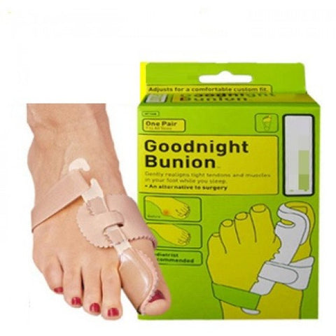 Comfortable Goodnight Bunion Realigns Your Feet
