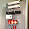 Creative and Practical Kitchen Shelf