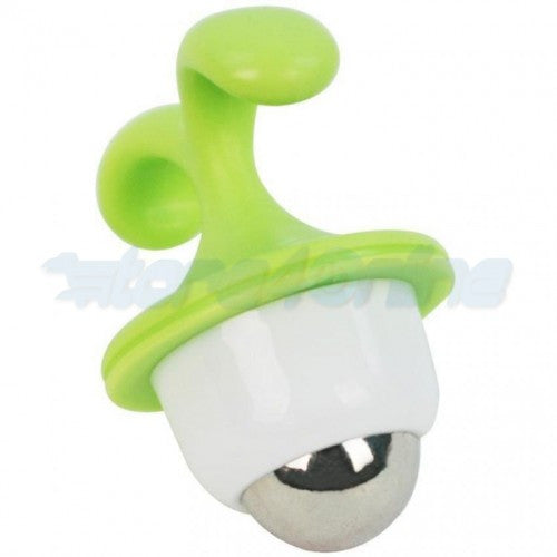 Cute Grass Shape Massage Bead With Flowerpot Stand