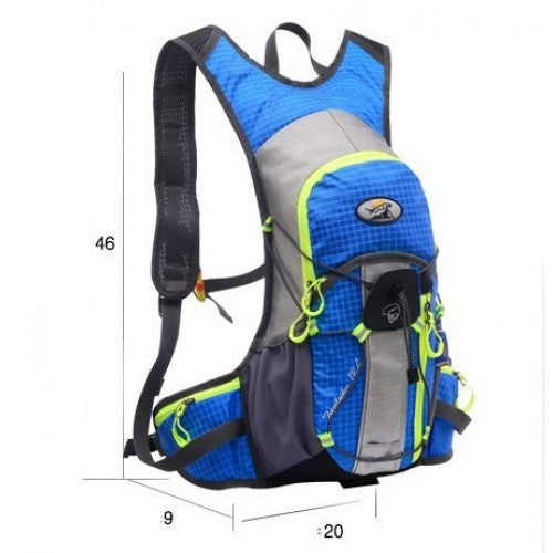 Cycling Lightweight 12L Backpack Daypack Hiking Sport Bag