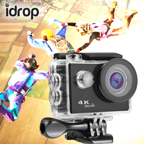 idrop R71S Action Camera 4K Ultra HD Wi-Fi Waterproof Up to 30M