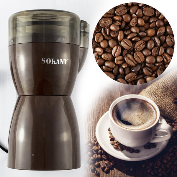 SM-3016 Sokany High Quality Coffee Grinder - Brown