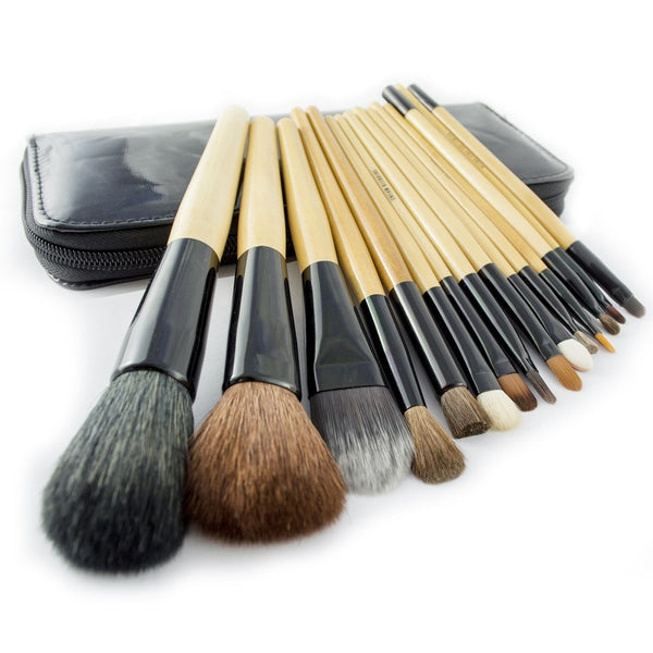 Professional Cosmetic Makeup Brushes Make Up Brush Set Kit Tools Super Soft Pouch Bag Case