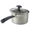 18cm Stainless Steel Milk Pot With Combined Lid