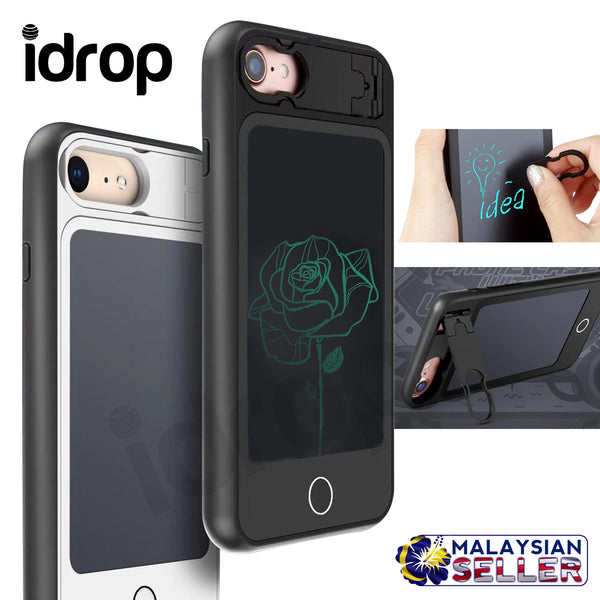 idrop Creative Apple Phone Case with Wordpad for iPhone 6/6s/7/8 & iPhone 6Plus/7Plus/8Plus