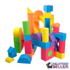 idrop EVA Foam Building Blocks 15pcs with Random Shape For Children Education [ ST-1705 ]