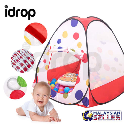 idrop Kiddey Ball Pit Play Tent with Convenient Carry Bag for Easy Travel and Storage