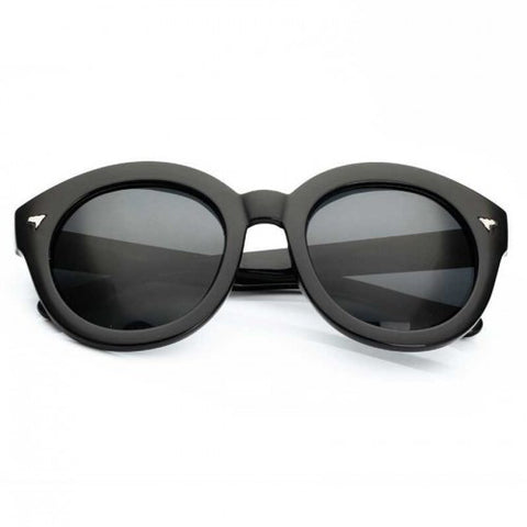 Fashion Sunglasses (Black + Grey)