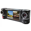 GS50 Dual Lens GPS Car DVR HD Double Lens Car Camera 2.7 Inch Screen Video Recorder