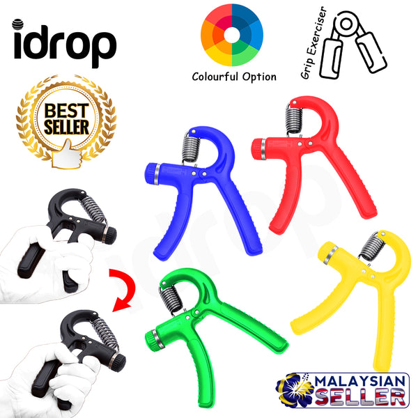 idrop Adjustable Fitness Exerciser Grip Hand for Wrist Strength Training 10~40kg