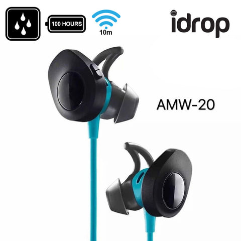 idrop AMW-20 Wireless Outdoor Sports Bluetooth 4.1 Headphones Stereo Universal
