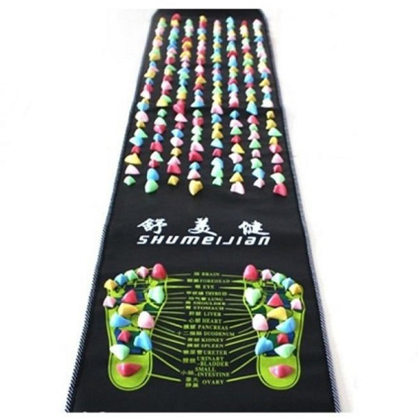 Healthy & Relax Foot Walking Acupressure Reflexology Massage Mat