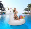 Inflatable Pink Flamingos Water Horse Swin Ring