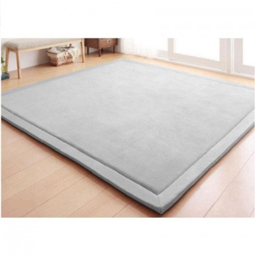 Japanese Rectangular Tatami Mat - Light Grey