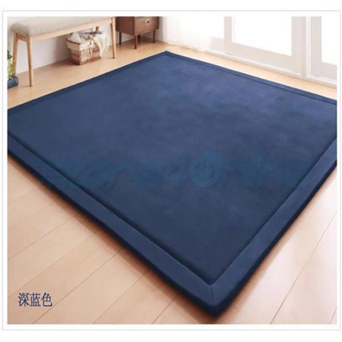 Japanese Square Tatami Mat -Dark Blue