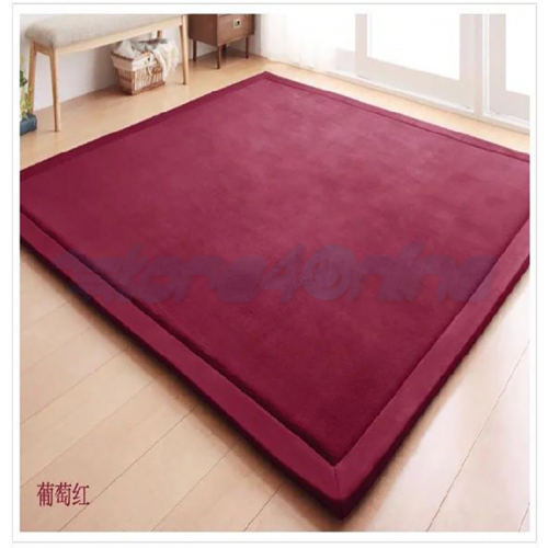 Japanese Square Tatami Mat -Red