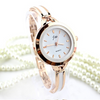 JW Classic Casual Bracelet Woman Gold Watch
