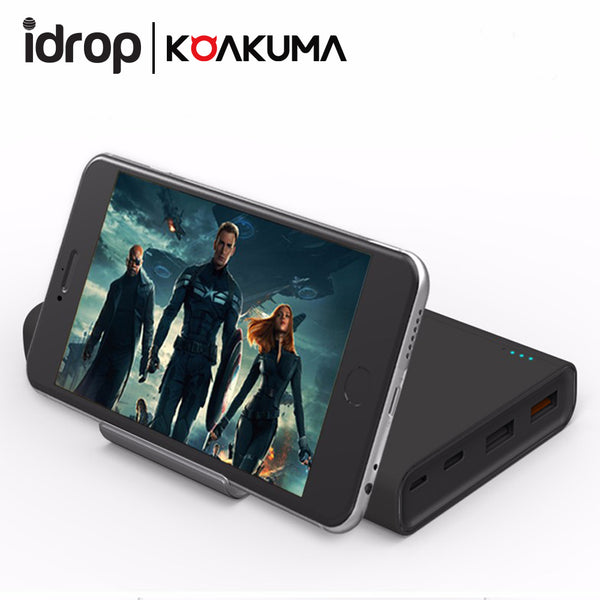 Koakuma KE-15 Quick Charge 3.0 Type-C 15000mah Power Bank With Stand