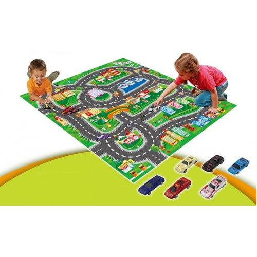 Kid's Activity Play Mat With 2 Designs