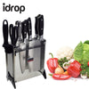 idrop 7 Pcs Knife Set With Holder