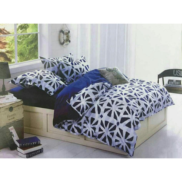 Korean Style Diary Series Fitted BedSheet Set with Quilt Cover