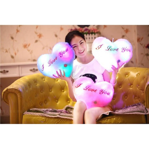 LED Luminous Pillow - Love