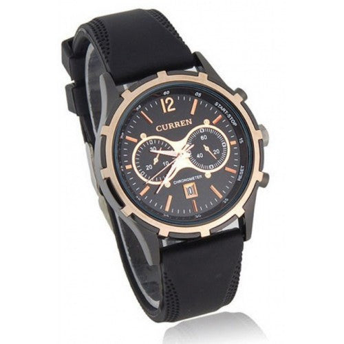 Mens CURREN 8066 Fashion And Leisure Wristwatch