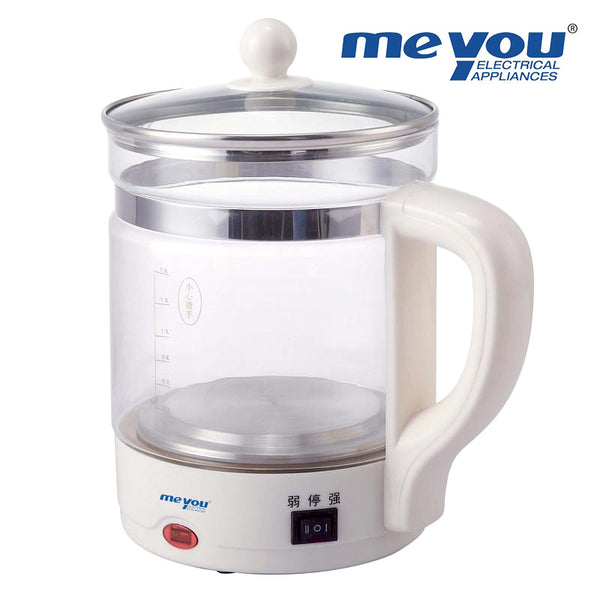 MEYOU KT-701 Multifunctional Health Thickening Glass Heating Kettle Teapot