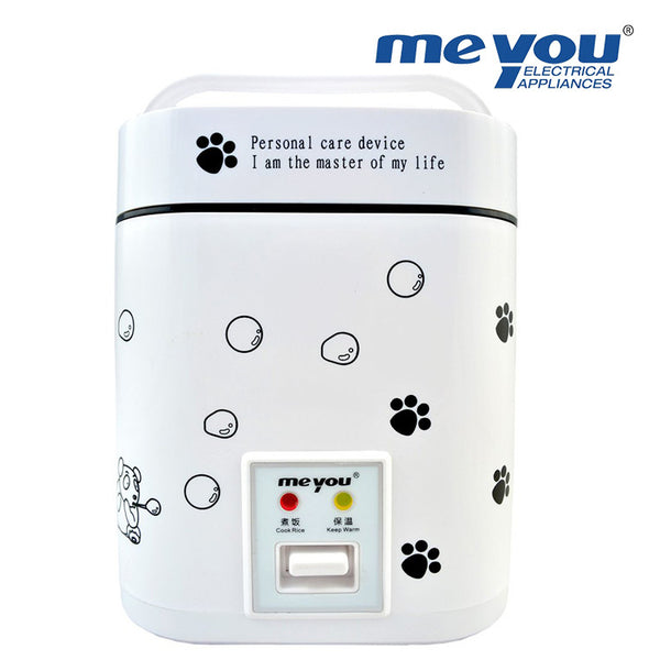 MEYOU Mini Electric Rice Cooker 1.2L