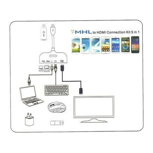 Mhl to hdmi connection kit usb otg card reader mhl adapter 5 in 1 mhl to hdmi connection kit usb otg card reader mhl adapter 5 in 1 cheapraybanclubmaster Images
