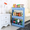 Movable Multifunction Storage Rack