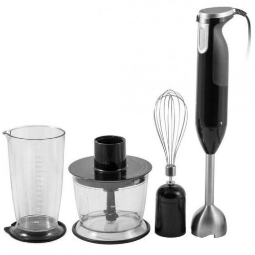 Multi-Functional 6-In-1 Stainless Steel Blender Mixer Set